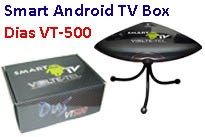 Smart Android TV Box DIAS VT-500