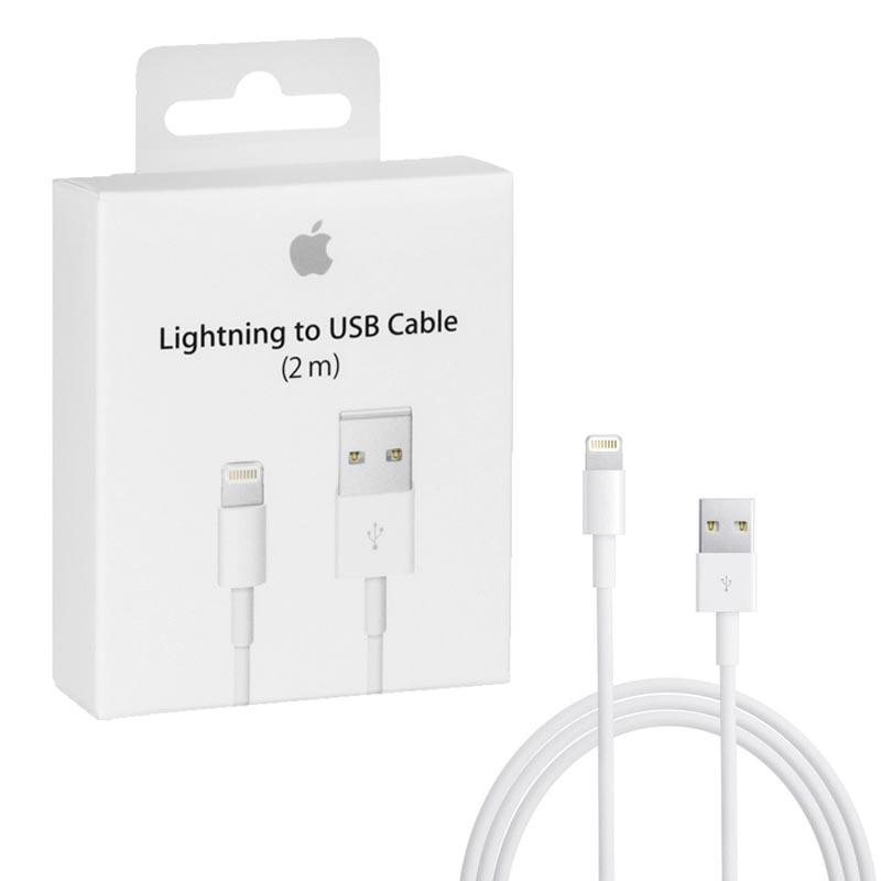 Apple Lightning To Usb Cable 2m Md819zma: APPLE LIGHTNING MD819ZM/A USB CHARGING-DATA 2m WHITE PACKING ORrh:volte-tel.com,Design