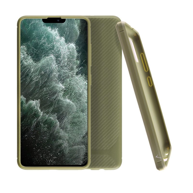 VOLTE-TEL ΘΗΚΗ IPHONE 12 PRO MAX 6.7″ CARBON RUGGED CAMERA PROTECTIVE ARMY GREEN